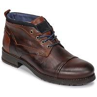 Zapatos Hombre Botas de caña baja Casual Attitude JABILON Marrón