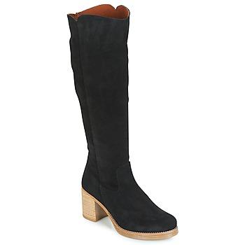 Zapatos Mujer Botas urbanas Casual Attitude JAPI Negro