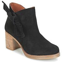 Zapatos Mujer Botines Casual Attitude HIRCHE Negro
