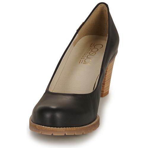 Attitude De Negro Casual Harche Tacón Zapatos Mujer pMGzSqUV