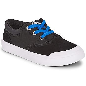 Zapatos Niño Zapatillas bajas Quiksilver VERANT YOUTH Negro