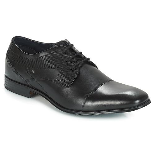 Zapatos especiales para hombres y mujeres Bugatti ROMEI Negro