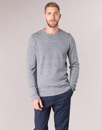 textil Hombre jerséis Jack & Jones JJEBASIC Azul