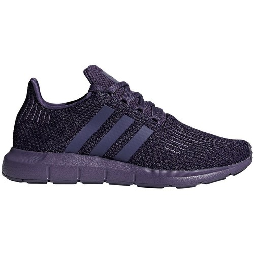 52014dafef1a9 adidas Originals Swift Run W Violeta - Zapatos Deportivas bajas ...