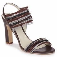 Zapatos Mujer Sandalias Jil Sander JS16121 Marrón