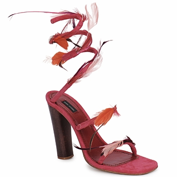 Zapatos Mujer Sandalias Marc Jacobs MJ16385 Rosa