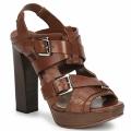 Zapatos Mujer Sandalias Michael Kors MOWAI Marrón