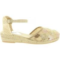 Zapatos Niña Alpargatas MTNG 45706 R1 Gold