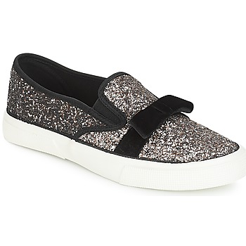 Zapatos Mujer Slip on André MAGGIE Plateado