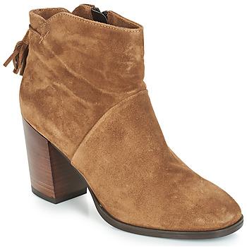 Zapatos Mujer Botas de caña baja André CARESSE Camel