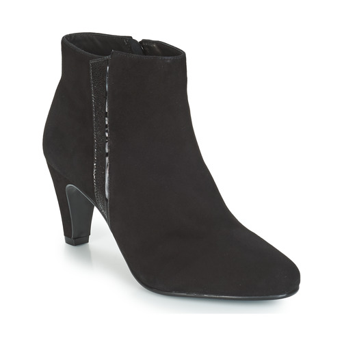 Mujer Prune Negro Altas Zapatillas André Zapatos 6v7bYfgy