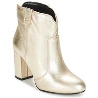 Zapatos Mujer Botines André POLICIA Dorado