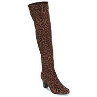 Zapatos Mujer Botas urbanas André PRISCA 3 Leopardo