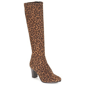 Zapatos Mujer Botas urbanas André GANTELET 4 Leopardo