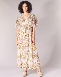 textil Mujer vestidos largos Derhy ALEXANDRIN Crudo