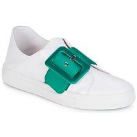 Zapatos Mujer Zapatillas bajas Minna Parikka ROYAL Emerald-white