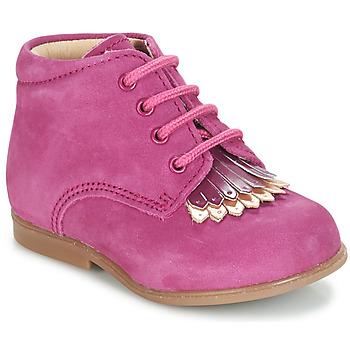 Zapatos Niña Botas de caña baja André LILY Fucsia