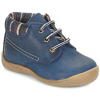 Zapatos Niño Botas de caña baja André NOE Marino
