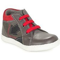 Zapatos Niño Botas de caña baja André LA FLECHE Gris