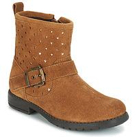 Zapatos Niña Botas de caña baja André SALMA Camel