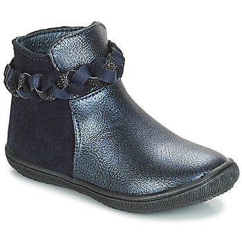 Zapatos Niña Botas de caña baja André HELOISE Marino