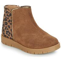 Zapatos Niña Botas de caña baja André SAVANNAH Camel