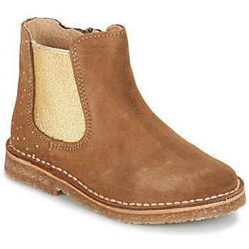 Zapatos Niña Botas de caña baja André CANNELLE Camel