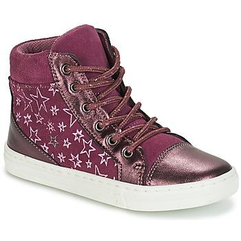 Zapatos Niña Zapatillas altas André EMILIE Violeta
