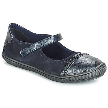 Zapatos Niña Bailarinas-manoletinas André LOUISA Marino