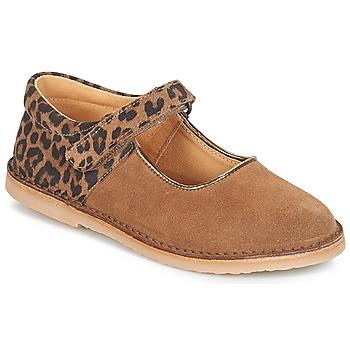 Zapatos Niña Bailarinas-manoletinas André AURORA Camel
