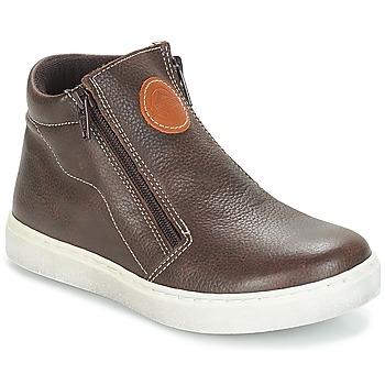 Zapatos Niño Botas de caña baja André HECTOR Marrón