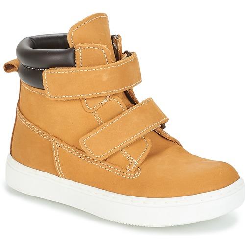 André ALESSIO Camel - Envío gratis | ! - Zapatos Botas de caña baja Nino