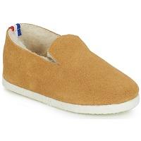 Zapatos Niños Pantuflas para bebé André BANQUISE Camel