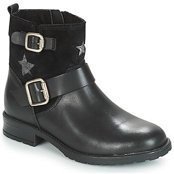 Zapatos Niña Botas de caña baja André COUNTRY GIRL Negro