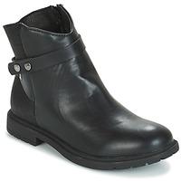 Zapatos Niña Botas de caña baja André LOELIE Negro