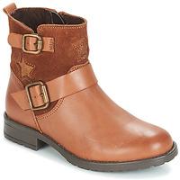 Zapatos Niña Botas de caña baja André COUNTRY GIRL Camel