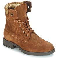 Zapatos Niña Botas de caña baja André KATE Camel