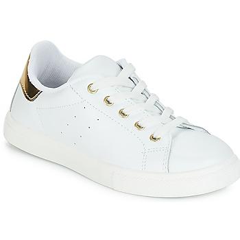Zapatos Niña Zapatillas bajas André TAMARA Blanco