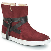 Zapatos Mujer Botas de caña baja André ALTHEA Burdeo