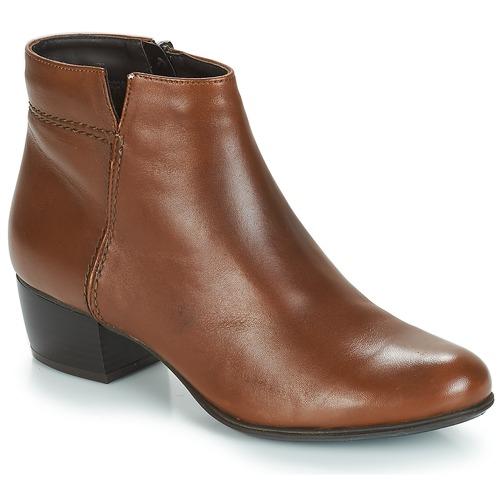 Zapatos Mujer Botines André PRIME Marrón