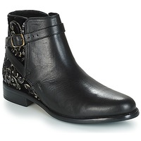 Zapatos Mujer Botas de caña baja André CAVIAR P Negro