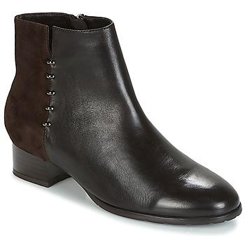 Zapatos Mujer Botas de caña baja André CARLA Marrón