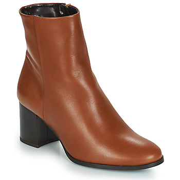 Zapatos Mujer Botines André DARA Camel