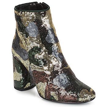 Zapatos Mujer Botines André REQUIEM Dorado