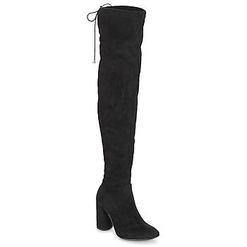 Zapatos Mujer Botas a la rodilla André VELOURS Negro