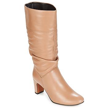 Zapatos Mujer Botas urbanas André SARA Beige