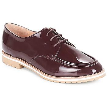Zapatos Mujer Derbie André CHARLELIE Burdeo