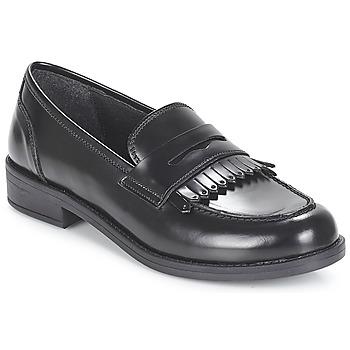 Zapatos Mujer Mocasín André MAEVA Negro