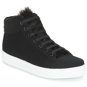 Zapatos Mujer Zapatillas altas André GOSPEL Negro