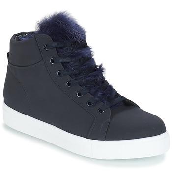 Zapatos Mujer Zapatillas altas André GOSPEL Marino